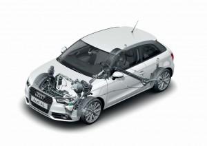 Audi A1 Fahrwerk