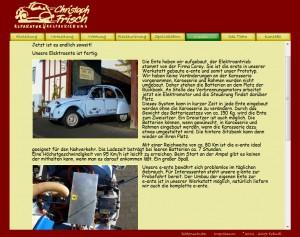 Screenshot Entenfrisch e-ente