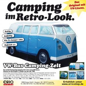 VW-Bus Camping-Zelt
