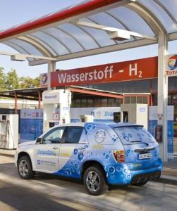 Opel HydroGen4 Tankstelle