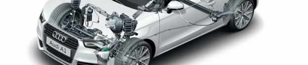 Audi A1 Technik
